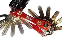 NEW Klixxo Key Holder - The smart key holder, key rings, key organizer or Key cage. For all common types of keys
