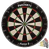 ProDarts Dartscheibe Force 8 – Aus hochwertigen A-Klasse Sisal Bristles