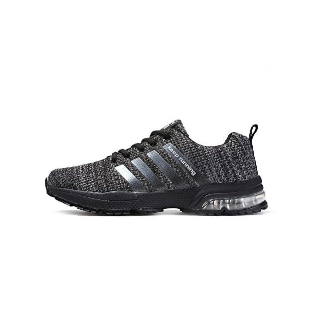 ... Senbore Chaussures de Sport basket Running Respirantes Athlétique  Sneakers Courtes Fitness Tennis Homme c5e99919445d