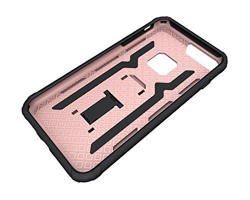 Custodia iPhone 7 Plus, iPhone 7 Plus Cover Silicone, SainCat Custodia in Silicone Morbido Cover per iPhone 7 Plus, Antiurto Shock-Absorption 3D Silicone Case Ultra Slim Sottile Morbida TPU Gel Cover  Rose Gold