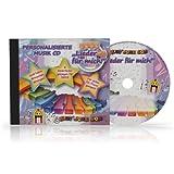 Personalisierte Kinderlieder - Lieder mit dem eigenen Namen - Namenslieder - CD - personalisiert - Widmung möglich