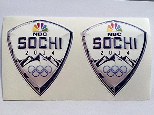SBD Decals 2 Sotschi Russland Olympia 2014 Gestempelschnitten Abziehbilder - 2014 Olympia