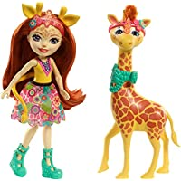 Enchantimals Doll with Large Animal Friend Figure and Accessories