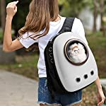 Dulcii Pet Carrier,Cat Dog Puppy Travel Hiking Camping Pet Carrier Backpack, Space Capsule Bubble Design,Waterproof Soft… 12