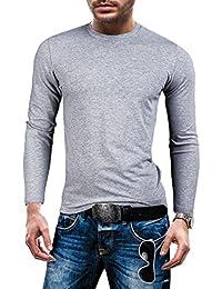 GANEDER Herren T-shirt Figurbetont Langarm NEW! 1115