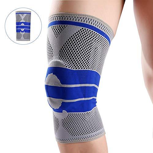 Kniebandage Kompressionsmanschette,Knieschützer Graduiert Verstellbarer Gurt Für Männer Frauen,Medizinische Kniebandagen Unterstützung Für Meniskusrisse, Sportgymnastik Laufhilfe Regeneration Schützt -
