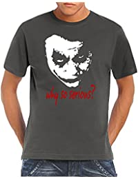 Touchlines Herren T-Shirt Joker - Why So Serious?