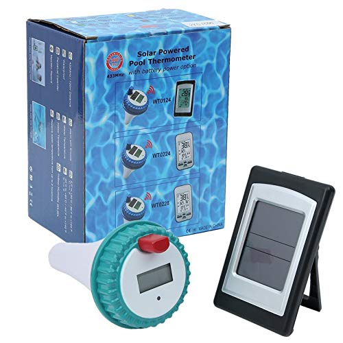 CamKpell Professionelle Wireless Digital Swimming Pool SPA Schwimmdock Thermometer Wireless Indoor und Outdoor Pool Spa Whirlpool Thermometer