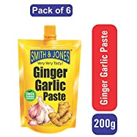 Smith & Jones Ginger Garlic Paste (Pack of 6)