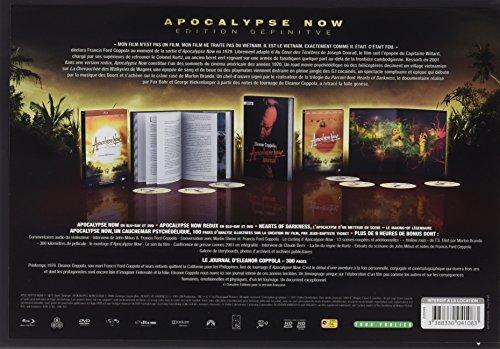 Coffret Apocalypse now redux 3 Blu-ray + 4 DVD + 1 livre [Blu-ray] [Édition Définitive]