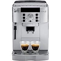 De'Longhi Magnifica ECAM 22.110.SB – Kaffeevollautomat mit Milchaufschäumdüse, Digitaldisplay mit Klartext, 2-Tassen…