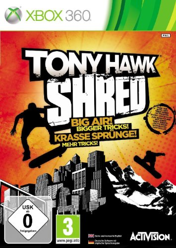 Tony Hawk Shred - Game Only (xbox 360)