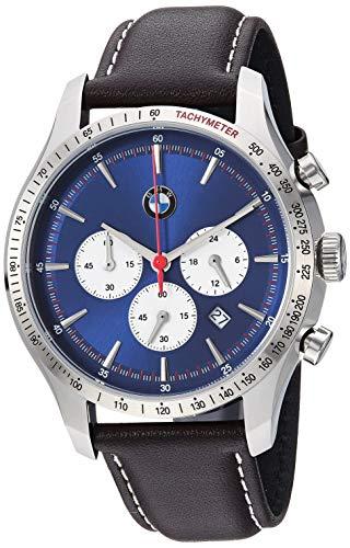 BMW - Reloj de Cuarzo japonés analógico para Hombre con Correa de Cuero - BMW7000