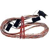 Câble SCSI 68p 5connecteurs Amphenol g802002+ Terminator 125cm id17214