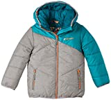 Ziener Kinder Skijacke Jon Padded Jun Leisure Downoptic Jacket, Titan Melange, 176, 147910