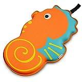 crocnfrog mejor baño reclinatorio cojín almohadilla de rodillas para bebé Niños Baño memoria espuma rodilleras alfombrilla de bañera