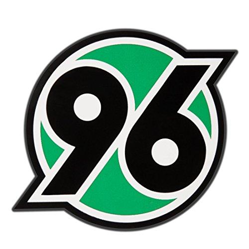 Hannover 96 Autoaufkleber / Aufkleber / Sticker Logo 96 - 6 x 6 cm