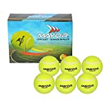 #8: Mayor Street Cricket Tennis Balls, Pack of 6 (Yellow)