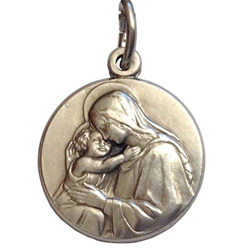 Médaille de la Vierge avec l'Enfant- Les médailles des Saints Patrons