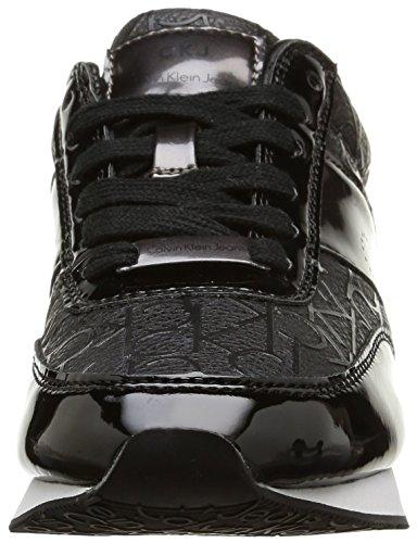 Calvin Klein Jeans Tosca, Baskets mode femme Noir (Bpw)