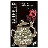 Clipper Biologico Fairtrade Inglese Borse Colazione Tè (40) (Confezione da 2)
