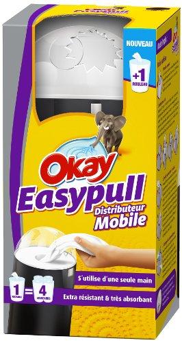Okay Easy Pull Distributeur Essuie-tout + 1 Rouleau