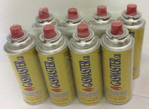Botellas de Gas butano Ideales para Estufas portátiles, Parrillas, Calentadores, Llamas 28