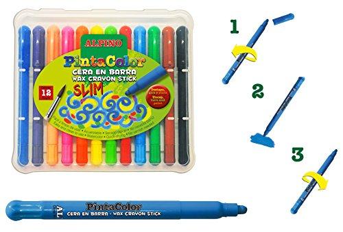 Alpino PX000112 – Pack de 12 lápices, multicolor