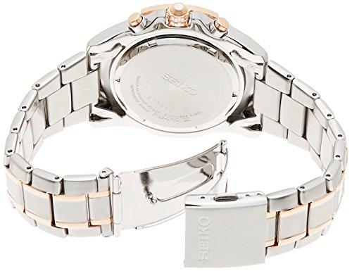 Seiko Lord Chronograph Silver Tone Watch