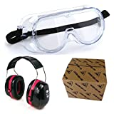3M Chemical Protection Safety Goggle and...