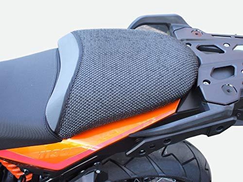 Triboseat Coprisella Passeggero Antiscivolo Nero Compatibile Con KTM 1190 Adventure (2013-2016)