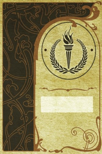 Monogram Olympics Notebook: Blank Journal Diary Log: Volume 61 (Monogram NouveauTwo 150 Lined)