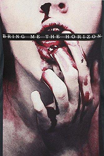 Bring Me The Horizon Bloodlust Girl-Top schwarz Schwarz