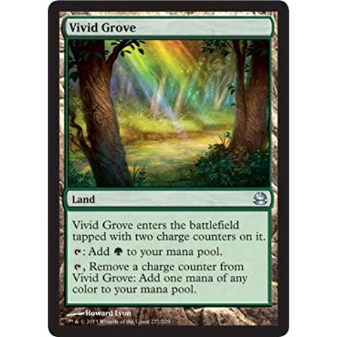 Magic: the Gathering - Vivid Grove - Modern Masters by Wizards of the Coast - Grove Singolo