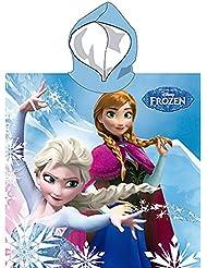 Poncho toalla Frozen Disney Snow Queen microfibra