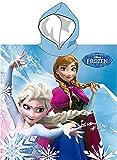 Disney Frozen Die Eiskönigin Poncho Kapuzenbadetuch 55x110 cm (u778)