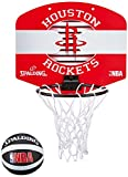 Spalding NBA Miniboard Houston Rockets Basketball, rot/Weiß, One Size