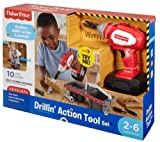 #10: Fisher Price Drillin Action Tool, Multi Color