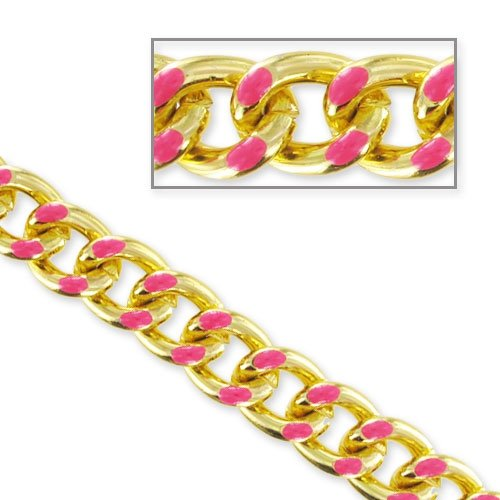 chaine-en-alu-decor-email-epoxy-18x14-mm-dore-rose-x50cm