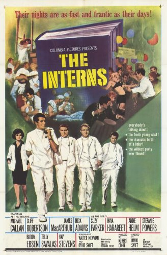 The Interns Plakat Movie Poster (11 x 17 Inches - 28cm x 44cm) (1962)