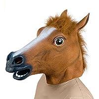Da. Wa giocattolo decorazione per il lattice di gomma Maschera Testa di Cavallo Halloween Party