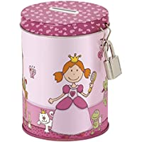 Sigikid, Girls' and Boys' Money Box, Includes Padlock with 2 Keys