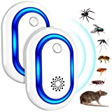 Répulsif Ultrasons, Ultrason Souris, Anti Rongeurs Insectes Anti Moustiques, Occasions Polyvalentes Anti Rats, Fourmis, Cafar