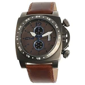 CARBON 14 - A1.4 - Montre Homme - Quartz - Analogique - Bracelet cuir noir