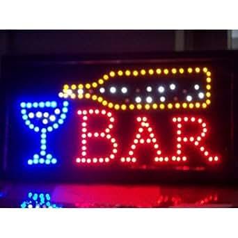 led panneau d 39 affichage bar enseigne publicitaire lumineuse luminaires et eclairage. Black Bedroom Furniture Sets. Home Design Ideas