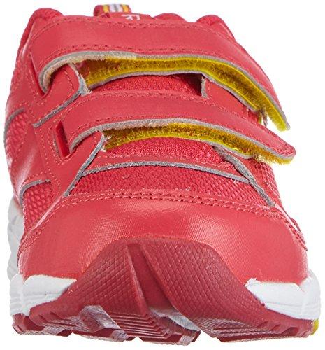 Reebok Almotio 2.0, Sneakers basses mixte enfant Rose (blazing Pink/stinger Yellow/white)