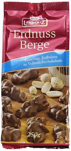 e Vollmilch, 12er Pack (12 x 250 g) (Erdnuss-schokolade)
