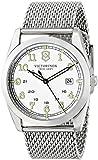 Swiss Army 249065 40mm Silver Steel Bracelet & Case Anti-Reflective Sapphire Men's & Women's Watch