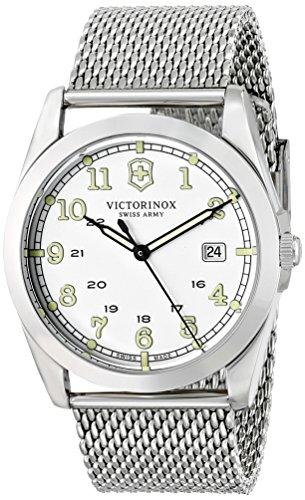 Victorinox 249065 Montre bracelet homme Femme Acier inoxydable Argent