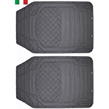 Cenni 38925 Set 2 Tappeti Auto in Gomma Sagomabili Universali Made in Italy